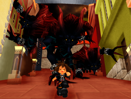 Fun With KH Fan-Edits: RUN FOR YOUR LIFE! by rubexbox
