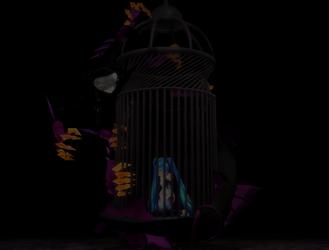 MMD: Azsharamon's Captured Songbird by rubexbox