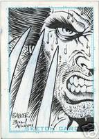 Sketch card Wolverine Barker by Billnichols