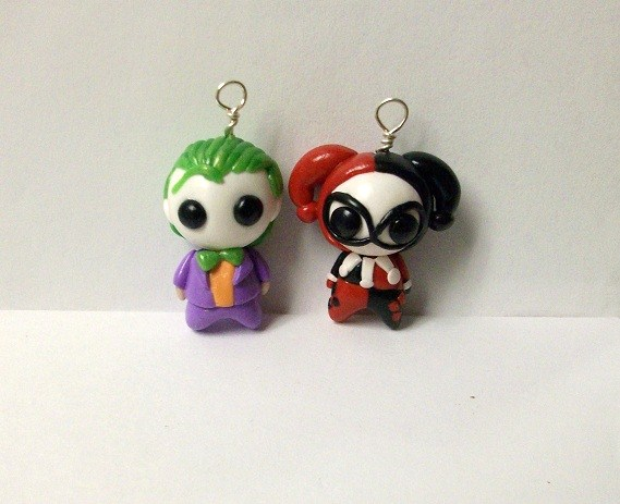 Joker and Harley Quinn by whitemilkcarton