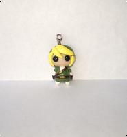 Link Charm by whitemilkcarton