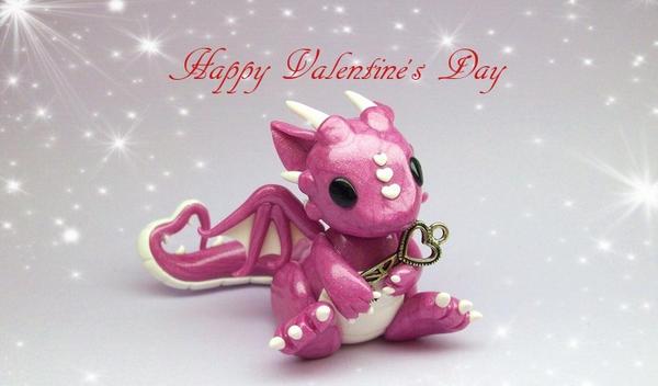 Valentineu0027s Day Dragon By Whitemilkcarton ...