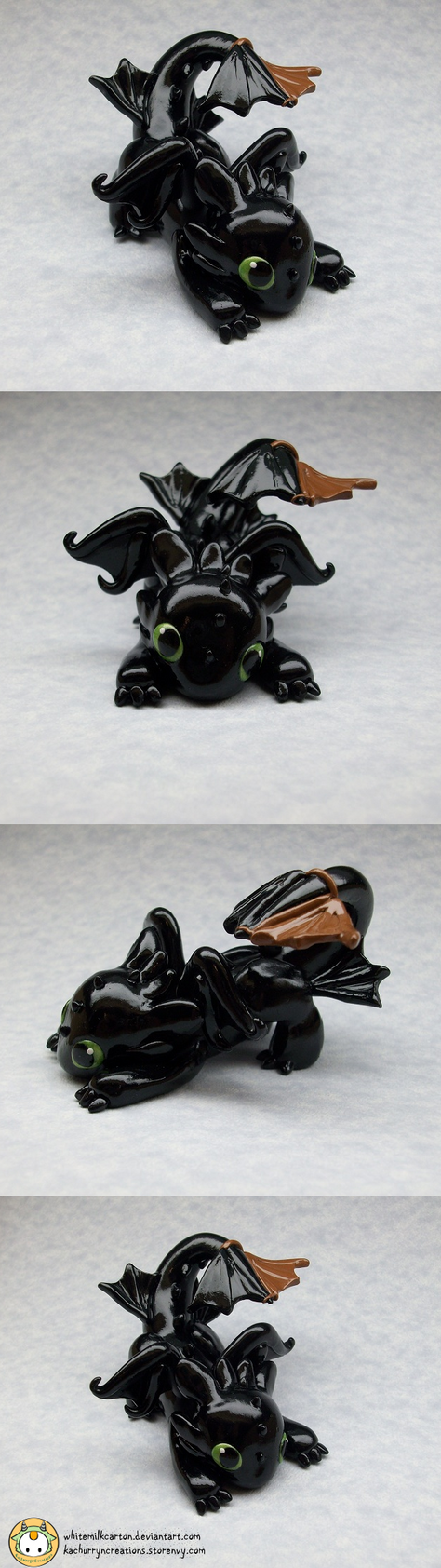 Toothless (Commission) by whitemilkcarton