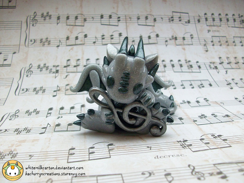 Music Dragon by whitemilkcarton