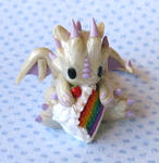 Rainbow Cake Dragon