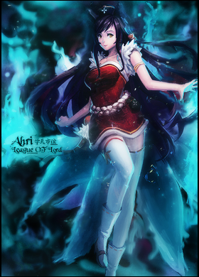 pedrow galery 2.0 - Página 3 Ahri___league_of_lord_by_pedrowo-d656ogg