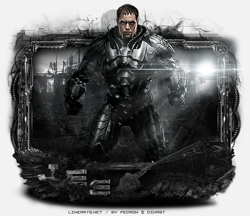 pedrow galery 2.0 - Página 5 General_zod___man_of_steel___gift_to_jee_by_pedrowo-d6et7o1