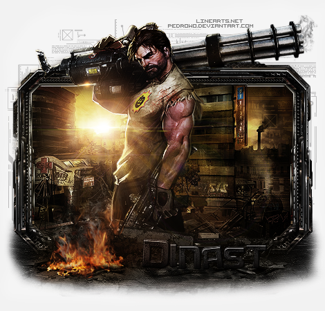 pedrow galery 2.0 - Página 6 Serious_sam_4___gift_to_dinast_by_pedrowo-d6l8duy