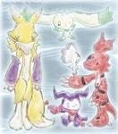 Digimon Tamers' Digimon