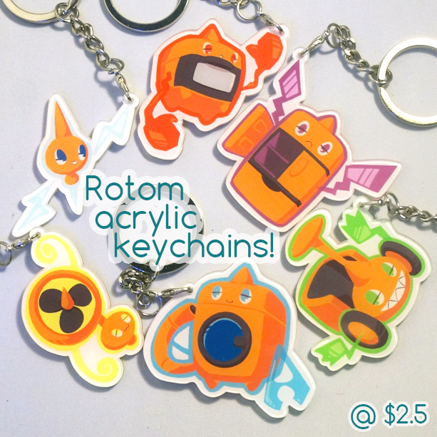 Keychains for sale! by Eledora