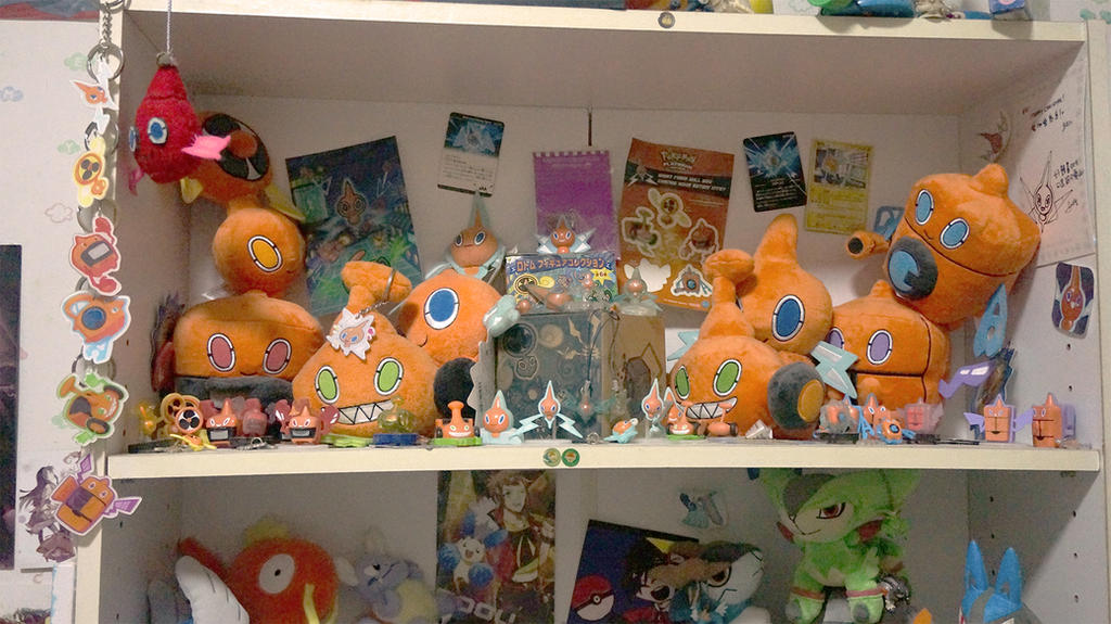 My Rotom shrine! by Eledora