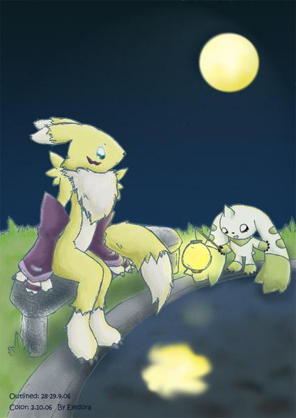 Full moons by Eledora