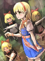 touhou Alice Margatroid [YouTube process] by permanentlow