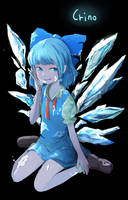 Cirno by permanentlow