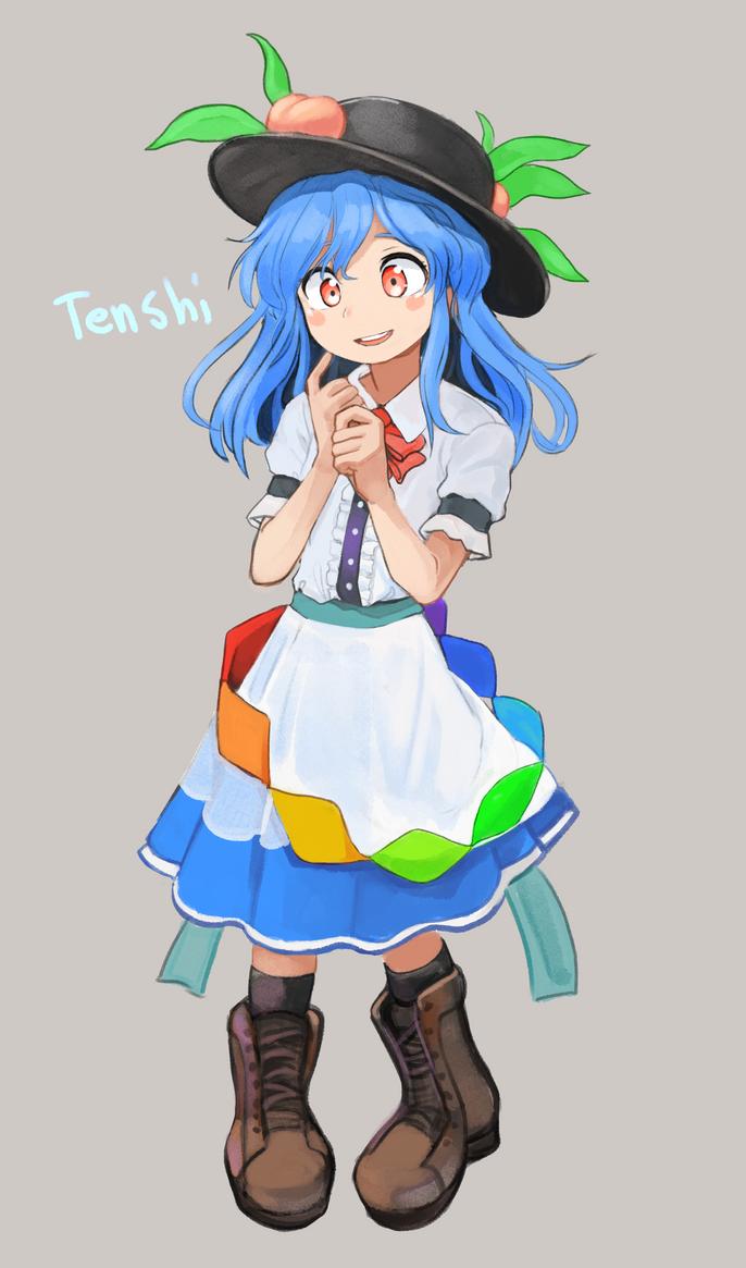 Touhou Tenshi by permanentlow