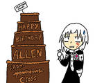 HAPPY BIRTHDAY ALLEN