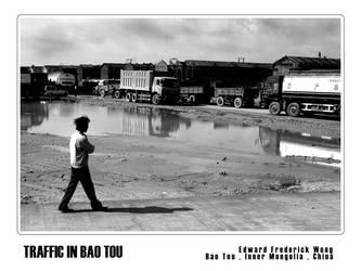 Traffic in Bao Tou