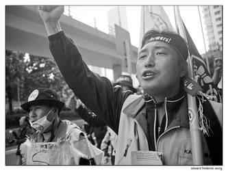 WTO Protest Hong Kong 1