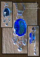 Topaz Pendant 02 by LRJProductions