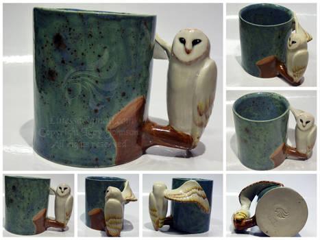 Owl Mug Commission