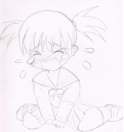 Crying Chibi girl- Mark Crilley copy by MangaLuvahGirl on ...