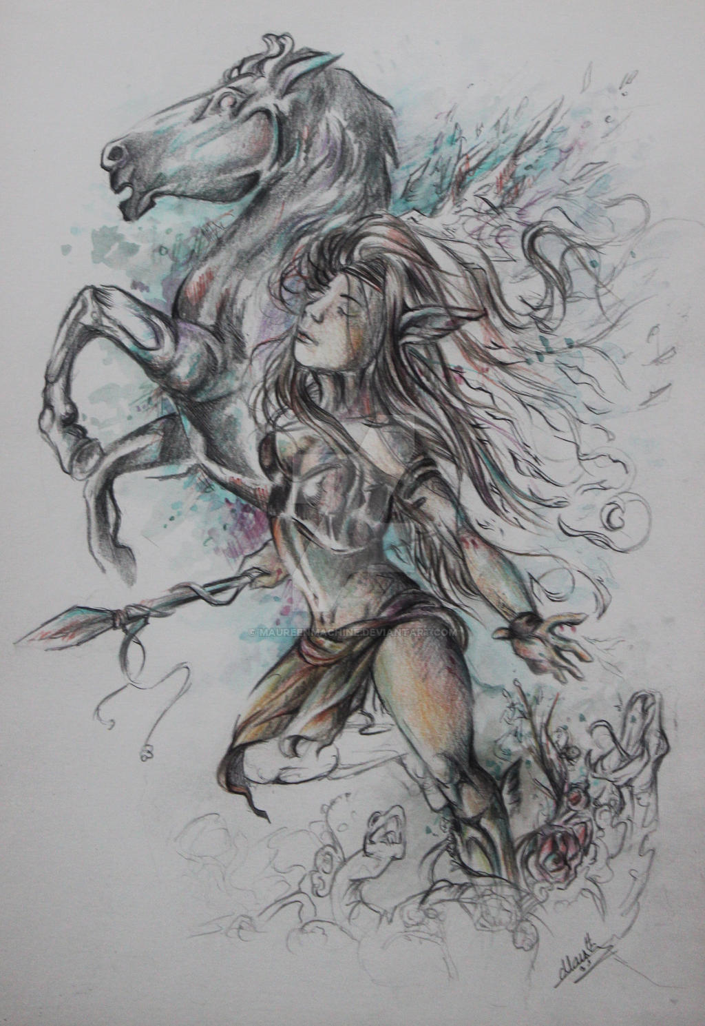 The Valkyrie by MaureenMachine