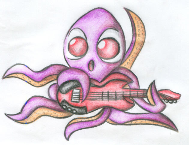 Pulpo Rockero by Matoonz