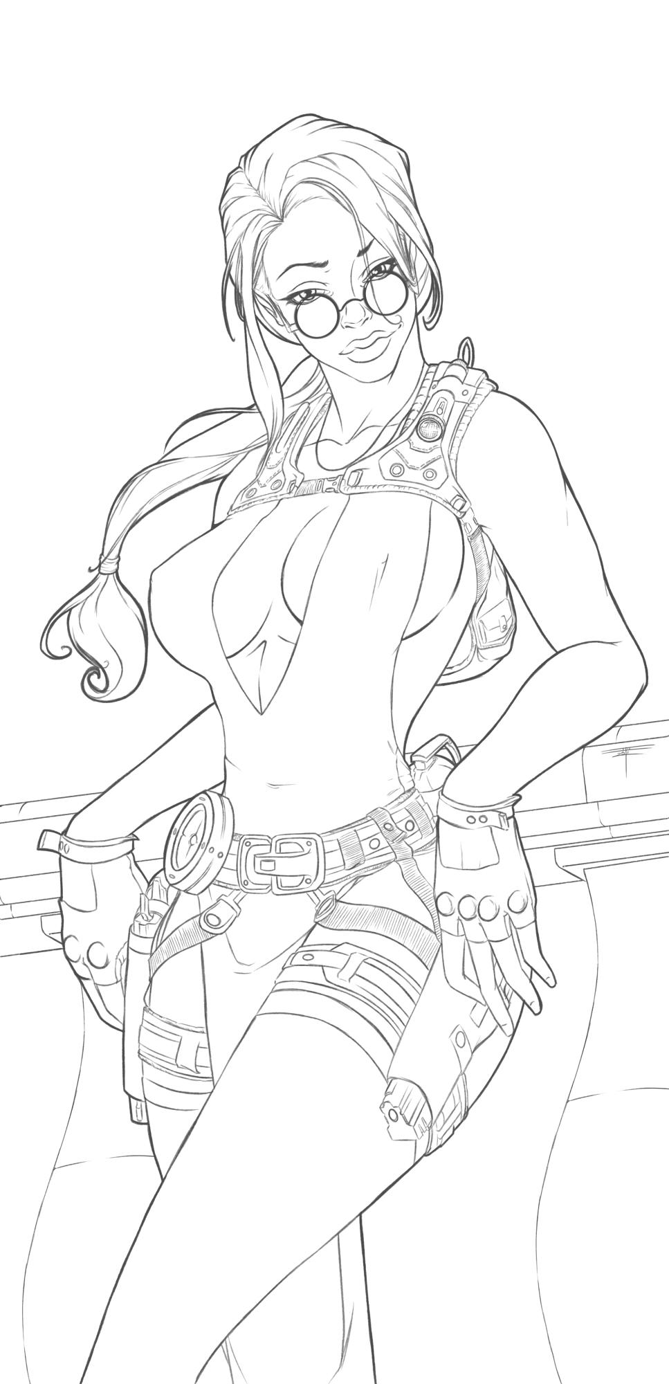 Lara Croft by Niveus-Diabolus
