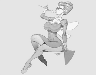 fairy godmomma by Niveus-Diabolus