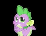 Spike worried