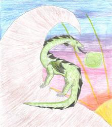 Dragon Sketch 4 by Emocatdragon