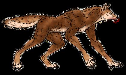 Werewolf color by Emocatdragon
