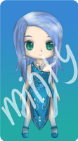Adoptable Water Nymph [ CLOSED - POINTS/CASH ] by MintyChipStuck