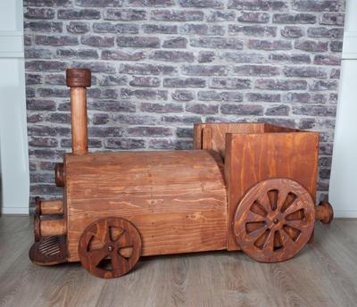 Wooden Train 3 by joycerowena