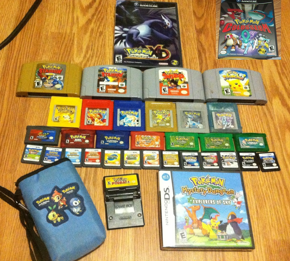 Pokemon games for gameboy color - Walkingmelonsaaa 2 768 91 My Pokemon Game Collection Updated By Furugaki