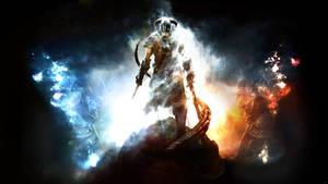 The Elder Scrolls:Skyrim HQ Wallpaper by SKstalker