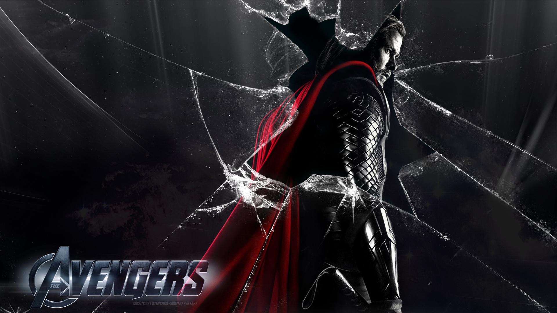 Avengers thor wallpaper 1080p by skstalker on deviantart - Thor art wallpaper ...