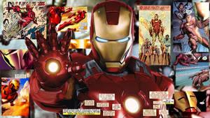 Iron Man Comic Wallpaper 1080p by SKstalker