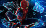 The Amazing Spider-Man Anaglyph HQ Wallpaper 1080p