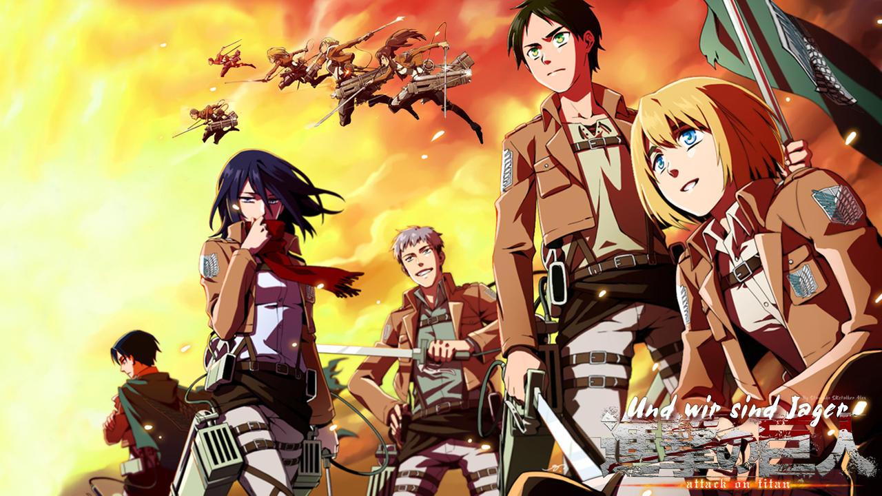 Attack On Titan I Shingeki No Kyojin Wallpaper By Skstalker On Deviantart