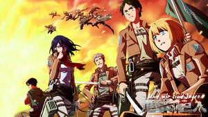 Attack on Titan I Shingeki no kyojin wallpaper by SKstalker