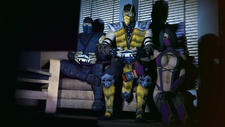 Mortal Kombat Party by SKstalker