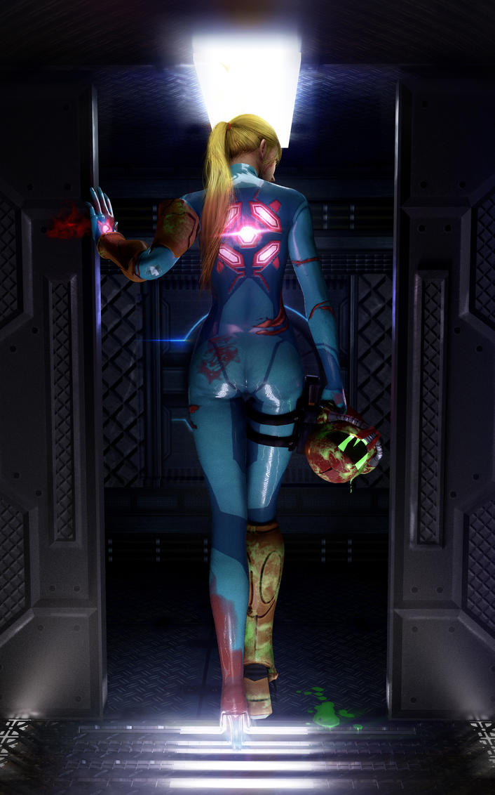 Samus Aran l So alone, be Sorrow l by SKstalker