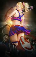 Juliet Starling I Lollipop Chainsaw I by SKstalker
