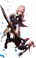 Final Fantasy l Lightning Returns l by SKstalker