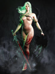 The Witcher l Ciri l by SKstalker