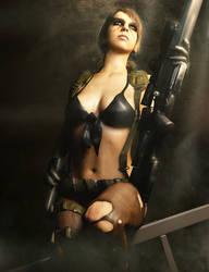 Metal Gear Solid l Quiet l by SKstalker