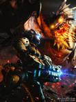 Titanfall X Monster Hunter