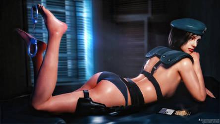 Resident Evil l Jill Valentine sexy l by SKstalker