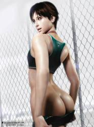 Resident Evil l Rebecca Chambers l by SKstalker